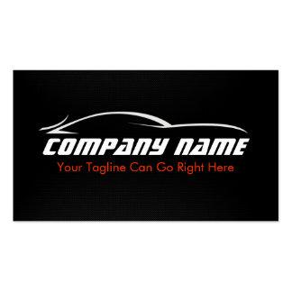 Black, Red, Car, Auto, Carbon Fibre  Business Card