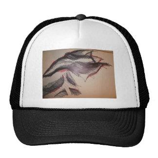 Black Red Feeling Trucker Hat