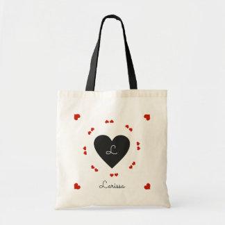 black & red hearts, romantic