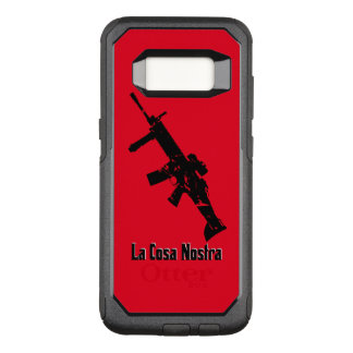 Black, Red, La Cosa Nostra OtterBox Commuter Samsung Galaxy S8 Case