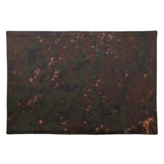 black red specks placemat