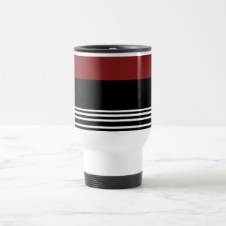 Black Red White>CoffeeTravel Mug