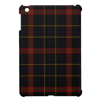 Black Red Yellow Tartan Plaid Case For The iPad Mini