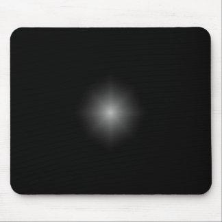 Black reflection mousepad