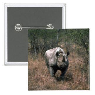 Black Rhino 15 Cm Square Badge