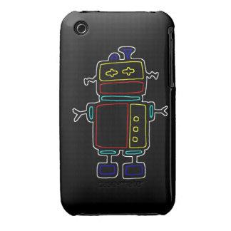 black robot case