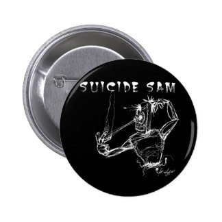 Black Robot Suicide Button
