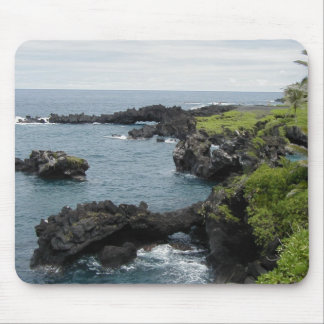 Black rock hawaiian mousepad