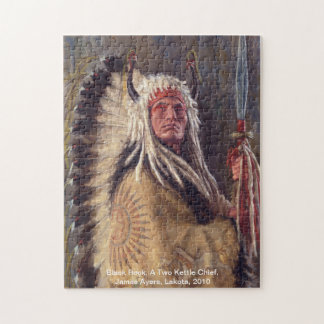 Black Rock, Native American puzzle