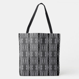 Black Rock Remix I Tote Bag by Artist C.L. Brown