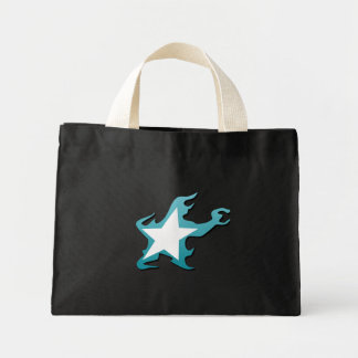 Black Rock Shooter star Mini Tote Bag