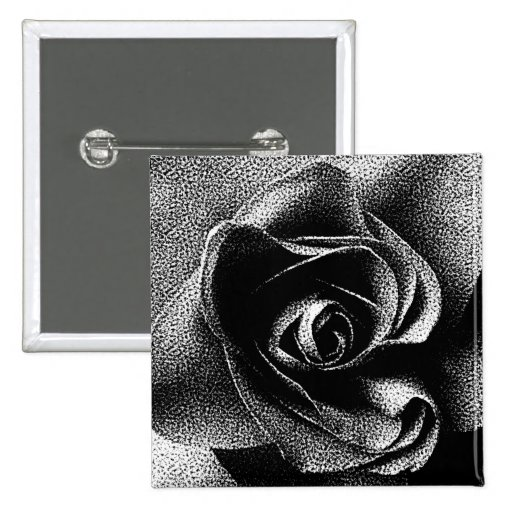 BLACK ROSE BUTTONS