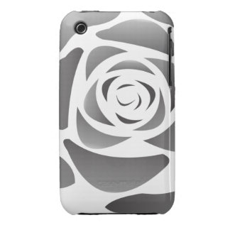 Black Rose Case iPhone 3 Covers