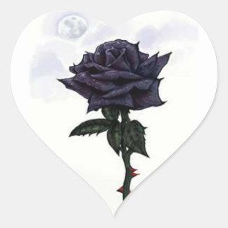 Black Rose Stickers
