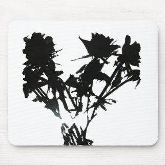 Black Roses Mouse Pad