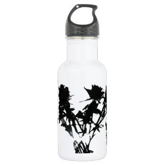 Black Roses Water Bottle