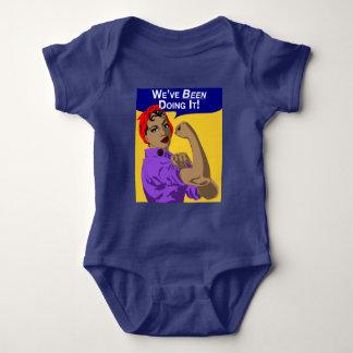 Black Rosie-We've Been Doing It - Baby Romper Baby Bodysuit
