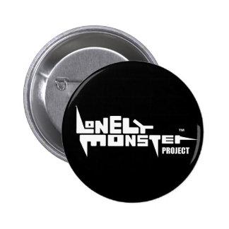 "Black Round Badge (2.25"") with White Logo"