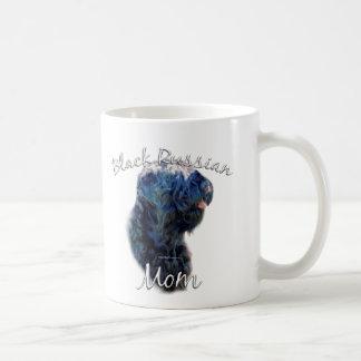 Black Russian Terrier Mom 2 Coffee Mug