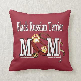 Black Russian Terrier Mom Cushion