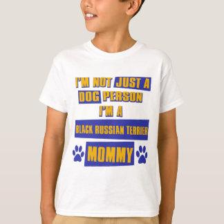 Black Russian Terrier Mommy T-Shirt