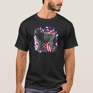 Black Russian Terrier Patriot T-Shirt