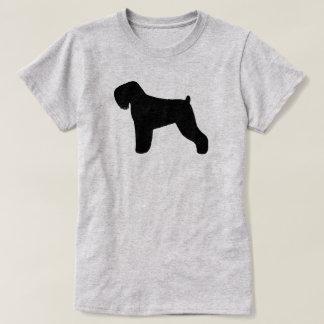 Black Russian Terrier Silhouette T-Shirt