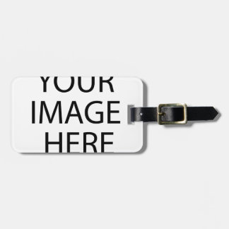 Black Sailor Princess Luggage Tag