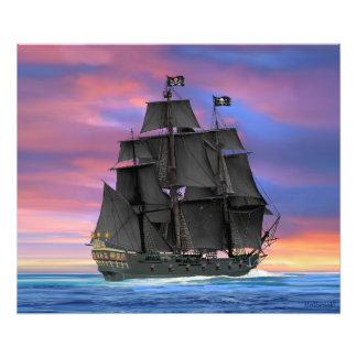 Black Sails of the Seven Seas Photograph