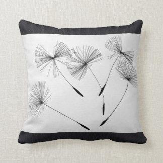 Black Sand's Dandelion Cushion