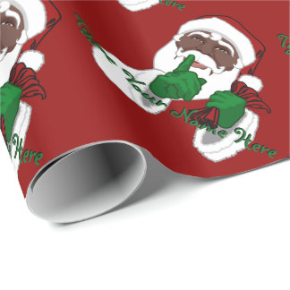 black santa wrapping paper Creative gift wrapping with cricut explore this post is sponsored by cricut all thoughts wide black ribbon gold glitter paper santa gift wrap file.