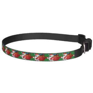 Black Santa Yo Ho Ho Ho  BSYHH Dog Collars