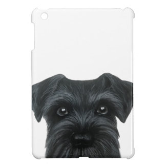 Black Schnauzer case iPad Mini Cover