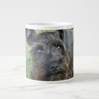 Black Schnauzer Large Coffee Mug