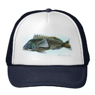 Black Sea Bass Cap