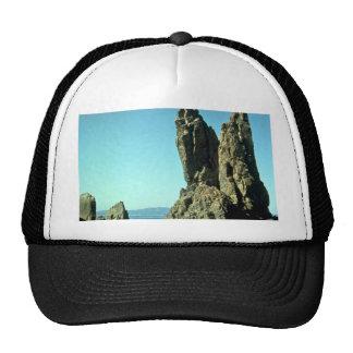 Black Sea, Crimea, Russia rock formation Hat