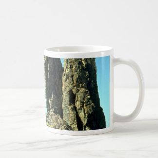 Black Sea, Crimea, Russia rock formation Mug