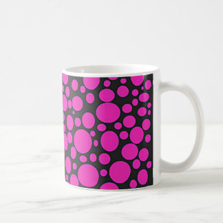 Black Sea of Hot Pink Bubbles Mug