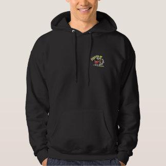 Black Seguida NY Latin Rock Hooded Sweatshirt