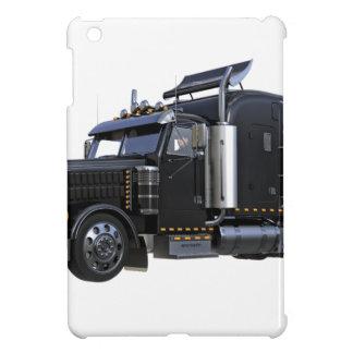 Black Semi Tractor Trailer Truck iPad Mini Cover
