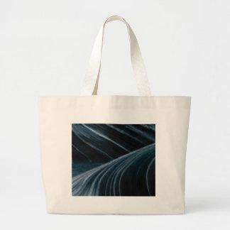 black shadow lanes large tote bag