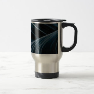 black shadow lanes travel mug