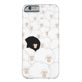 Black sheep barely there iPhone 6 case