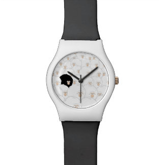 Black sheep illustration watch