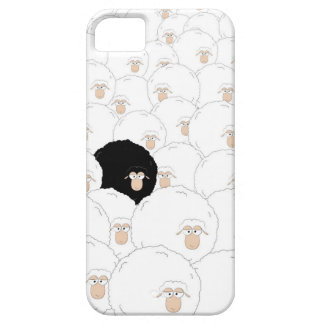 Black sheep iPhone 5 case