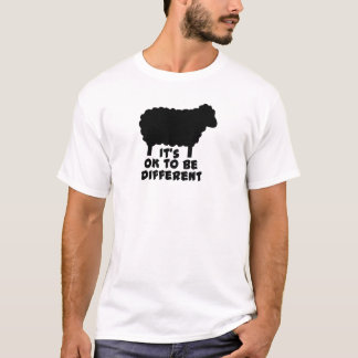Black Sheep - It's Ok To Be Different T-Shirt