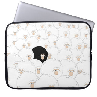 Black sheep laptop sleeve