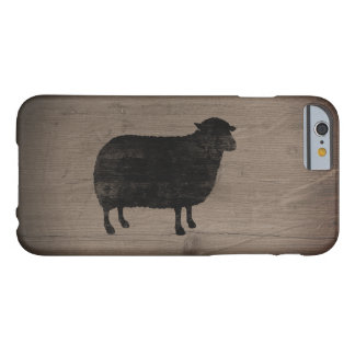 Black Sheep Silhouette Barely There iPhone 6 Case
