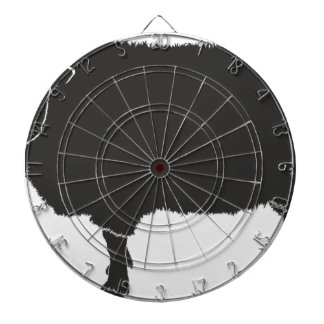 Black Sheep Silhouette Dartboard
