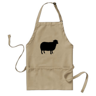 Black Sheep Silhouette Standard Apron